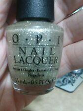 OPI My Favorite Ornament Nail Polish Gold Glitter Sparkle SHIPS TODAY Mariah