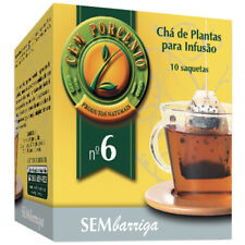 Cem Porcento ~ WITHOUT BELLY ~ Mixture of plants For infusion *280 Sachets