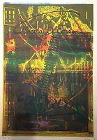 Grande lithographie 105X75 CM de Rob SCHOLTE(1958), HOLLAND,