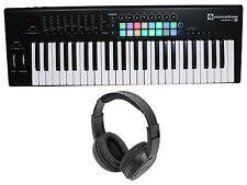 Novation LAUNCHKEY-49-MK2 49-Key USB MIDI Ableton Keyboard Controller+Headphones