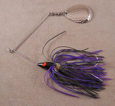 Bass Fishing Lure DR Custom Spinnerbait 3/8 oz. 1 Hammered Colorado Blade
