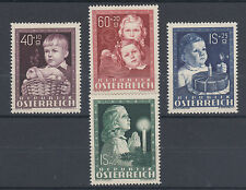 Austria Sc B260-B263 MLH. 1949 Easter, Children's Welfare Issue complete
