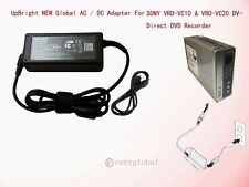 12V AC Adapter For SONY DVDirect VRD-VC10 VRD-VC20 DVD Recorder VRDVC20 Charger