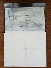 Original Jeffrey Cortland Jones Drawing Work on Paper Minimalist Monochromatic