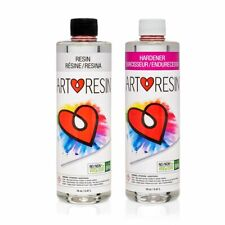 Artresin Epoxy Resin Hardener Kit Clear Non Toxic High Gloss Coat Art 946 Ml