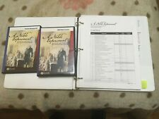 A Noble Experiment video lessons, resource CD, and printed materials