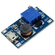 2A DC-DC Micro-USB Step Up Boost Module 2-24V IN 5V 9V 12V 28V Adjustable Output