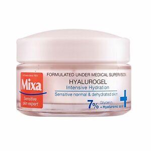 Mixa Hyalurogel Intensely 24h Moisturizing Cream-Gel for Sensitive Skin 50 ml