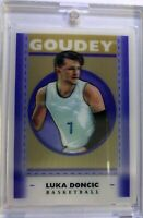 2019 19 Goodwin Champions Goudey Lenticular Luka Doncic Rookie #GL2, Insert