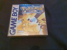 Pokemon: Yellow Version -- Special Pikachu Edition (Nintendo Game Boy Color, 20…