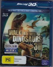 Walking With Dinosaurs The 3D Movie - Blu-Ray (Brand New Sealed) Region B