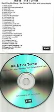 IKE & TINA TURNER Don't Play / It's Gonna BONUS TRX ADVNCE PROMO DJ TST PRESS CD