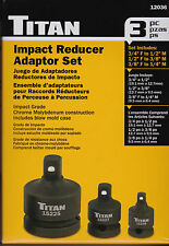 Impact Reducer Adapter Set, 3 Pieces Titan 12036