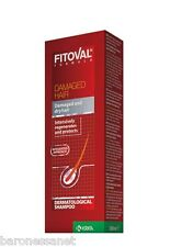 Fitoval Treatment DAMAGED Hair Shampoo 100ml Repair Regenerates Damaged Hair