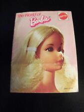 The World Of Barbie Booklet 1973 Mod Vintage Ken