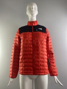 NWD The North Face Boys' Thermoball Eco Jacket, Fiery Red Size L