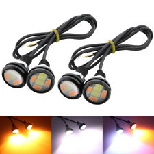4X 23mm LED Headlight Switchback Amber/White Eagle Eye Fog Daytime Running Light