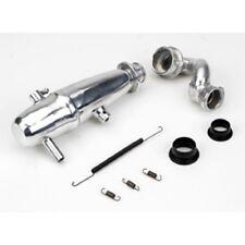DYNAMITE 1/10 Revo Power Inline Exhaust System: Polished  DYNP5015