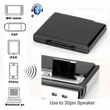 Receptor de Musica Bluetooth A2DP para Apple iPad iPod iPhone 30-Pin Base E R2R7