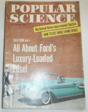 Popular Science Magazine All About Ford's Luxury Edsel September 1957 120414R