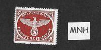 MNH stamp  / Military Postage WWII emblem / Feldpost / 1942 / Third Reich