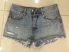 Levi's Denim Mid-Rise Shorts for Women