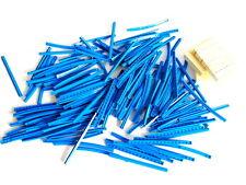 Quantità di plastica blu VINTAGE LEGO SYSTEM Treno Pista Pezzi e falegnami