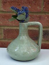 Green Vase Ornament Shabby Chic Ceramic Flower Modern Stylish Gift 16cm