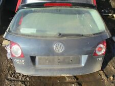 2005 VW GOLF PLUS BOOT LID TAILGATE COMPLETE BLUE LC5F BLUE GRAPHITE PEARL