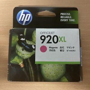 HP 920XL CD973AA MAGENTA Inkjet Cartridge - GENUINE
