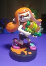 Nintendo Amiibo Smash Bros Splatoon Inkling Girl Switch 3DS Out of Box