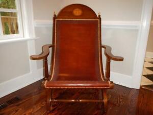 EUC New Orleans Thomas Jefferson Monticello Met Museum Campeche/Campeachy Chair