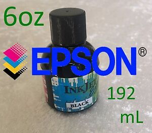 Epson Inkjet Black Ink Refill 6oz (192mL) Premium