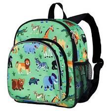 Wildkin 40080 Wild Animals Pack N Snack Backpack