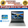 "HP ProBook 650 G2 15.6"" Intel i5-6200U 8GB RAM 256GB SSD Win 10 WiFi VGA Laptop"