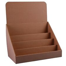 Stand-Store 14.5-Inch 4 Tier Cardboard Greeting Card Display Stand - Brown (P...