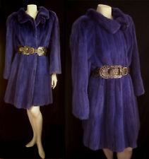 Magnificent Purple MINK Fur Long COAT Jacket ~ Ultimate luxury gift ~ Celebrity