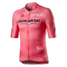 NEW Castelli Giro D'Italia Maglia Rosa Pink Jersey — men's medium