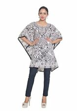 Tunic Top Kaftan Size Caftan Blouse Summer short Cover Up Dress Women Sleeve Low