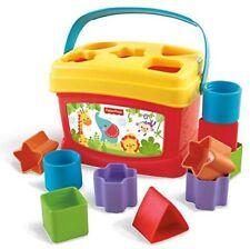 Fisher Price Babys erste Bausteine Formen Sortierspiel Lernspielzeug Steckspiel