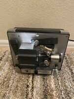 Vintage BELL and HOWELL AUTOLOAD Model 357B Super 8 Film Movie Projector Tested