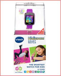 vTech Kidizoom DX2 Kids Smart Watch - 2 Cameras Monster App -  PURPLE ❤️NEW❤️