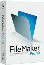 FileMaker Pro 10 Retail Full Version for Windows & Mac w/ Permanent License