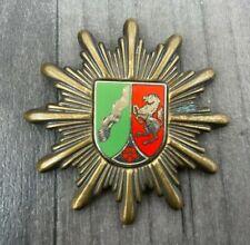More details for obsolete german police cap badge nordrhein westfalen police collectable rare!