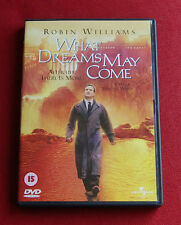 What Dreams May Come - Region 2 DVD - Robin Williams Cuba Gooding Jr - Rare OOP!