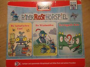 Ritter Rost Hörspiel , Blechbox 2 , 3 CDs in einer Box