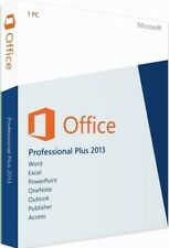 Microsoft Office Pro' Plus 2013 - Retail - Licenza Elettronica per PC