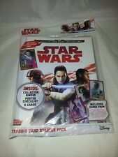 Star Wars : The Last Jedi Trading Card Starter Pack : Unopened.