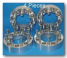 "4 Pc Dodge Ram 2500 3500 8 Lug Wheel Spacers 8x6.5 - 2"" inch - 9/16"" Stud"