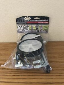 "Bell Spotter 500 Flip Up Training Wheels Fits 12"" to 20"" Bike Wheels"